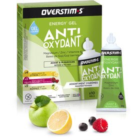 OVERSTIM.s Antioxydant Liquid Gel Box 10x30g, Mixed Flavors